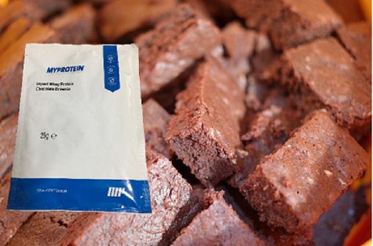 チョコレートブラウニー写真